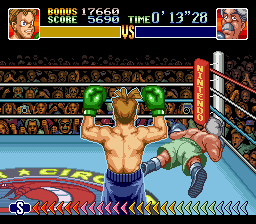 Super Punch-Out!! - my best time so far - User Screenshot